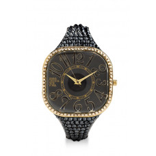 Jimmy Crystal Swarovski Watch WJ621 BLACK