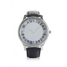 Jimmy Crystal Swarovski Watch WJ623 BLACK