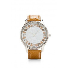 Jimmy Crystal Swarovski Watch WJ623 BROWN