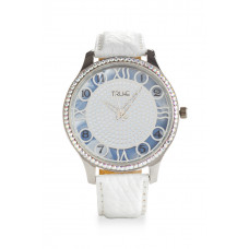 Jimmy Crystal Swarovski Watch WJ623 WHITE