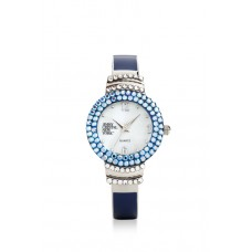 Jimmy Crystal Swarovski Watch WJ625 BLUE