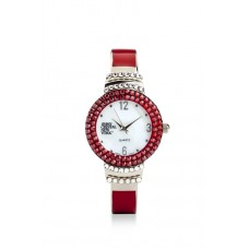 Jimmy Crystal Swarovski Watch WJ625 RED