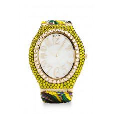 Jimmy Crystal Swarovski Watch WJ629 GOLD