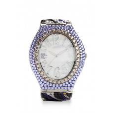 Jimmy Crystal Swarovski Watch WJ629 SILVER