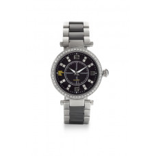 Jimmy Crystal Swarovski Watch WJ643 BLACK
