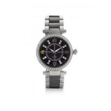 Jimmy Crystal Swarovski Watch WJ643 BLACK