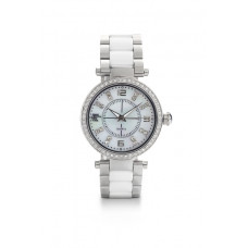 Jimmy Crystal Swarovski Watch WJ643 WHITE