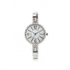Jimmy Crystal Swarovski Watch WJ646 SILVER