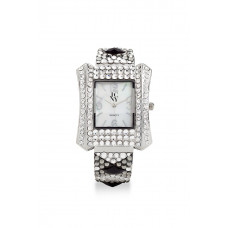 Jimmy Crystal Swarovski Watch WJ654 SILVER