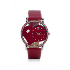 Jimmy Crystal Swarovski Watch WJ662 RED